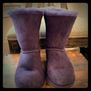 UGGs Purple Boots - Girls 3